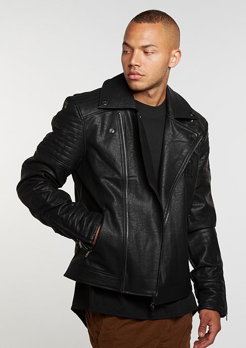 Cayler & Sons C&S Jacket BL Rebel Biker black/white