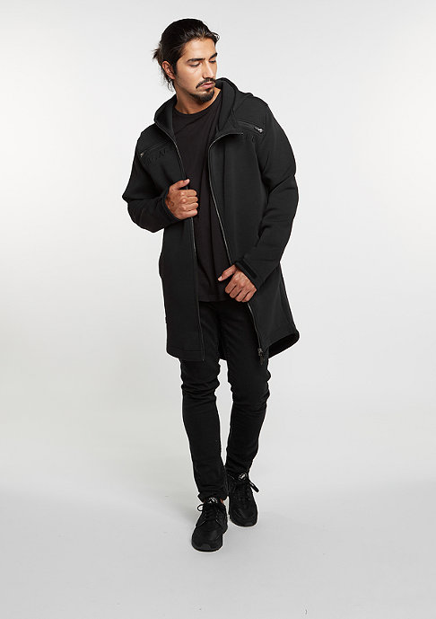 Cayler & Sons C&S Jacket BL Bumrush Tech Zip Sweat black/white