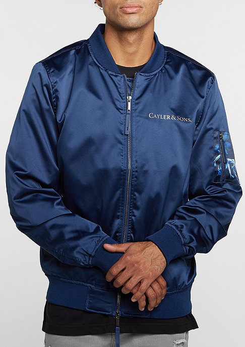 Cayler & Sons C&S Jacket WL Infintiy Bomber navy/gold