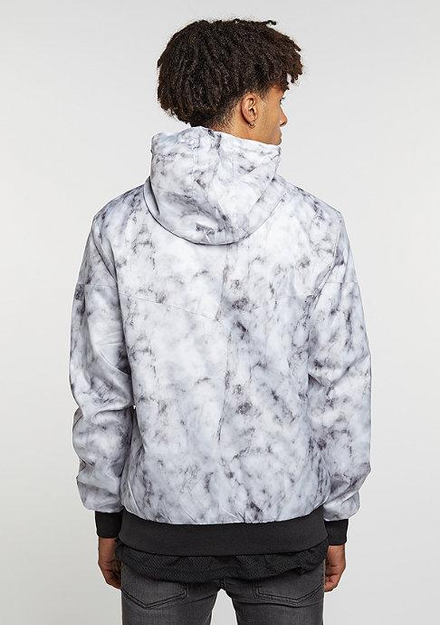 Cayler & Sons C&S Jacket WL Infintiy Windbreaker white marble/black
