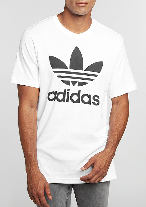 adidas T-Shirt Original Trefoil white