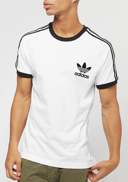 adidas T-Shirt CLFN white/black