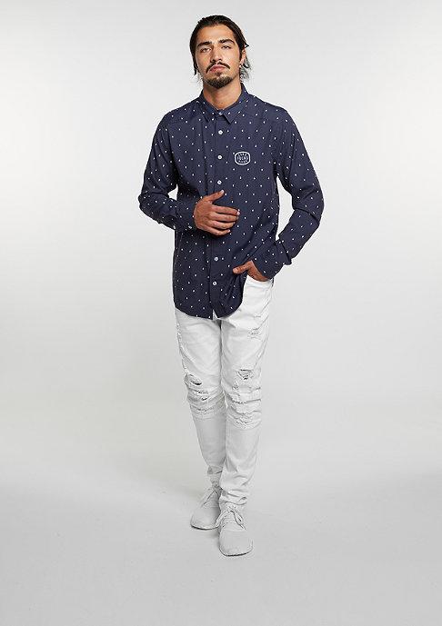 Cayler & Sons Hemd BL Shirt Zero navy/white