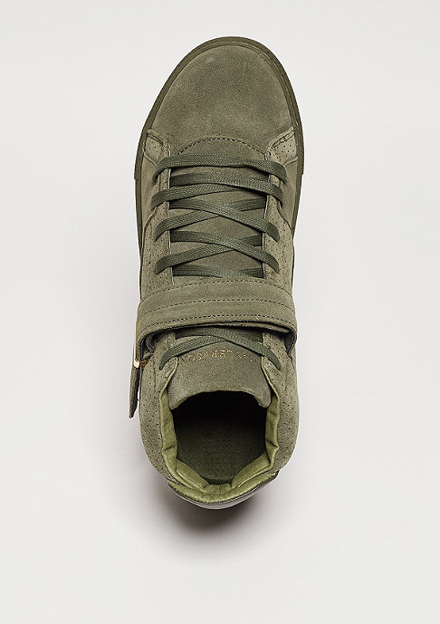Cayler & Sons Schuh Sashimi army green/gold