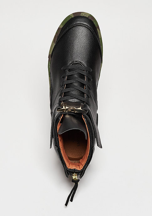 Cayler & Sons C&S Shoe Hamachi deep black/woodland/gold