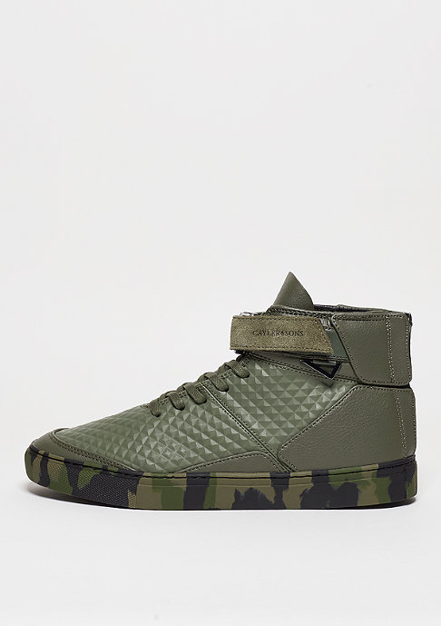 Cayler & Sons C&S Shoe Hamachi army green/black