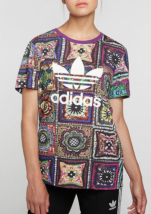 adidas T-Shirt Crochita multicolor