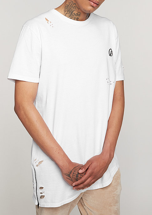Criminal Damage T-Shirt Mercer white/black