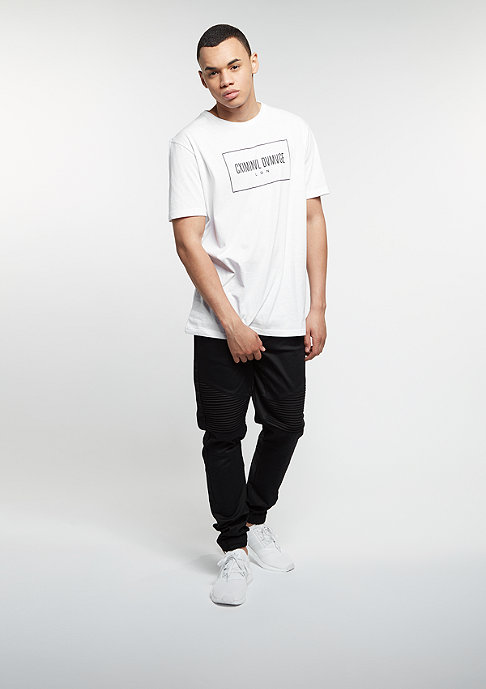 Criminal Damage T-Shirt November white/black