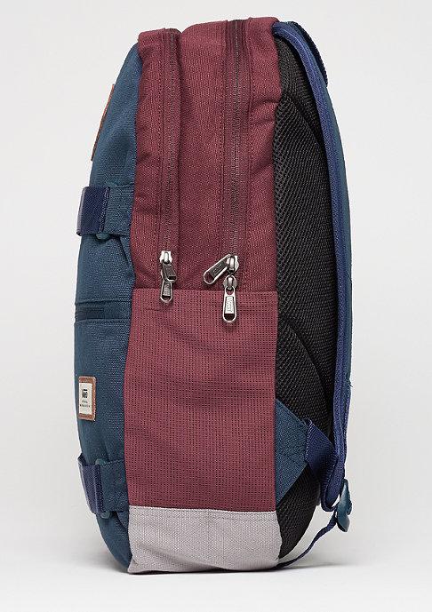 VANS Authentic III Sk8pack port royale colorblock