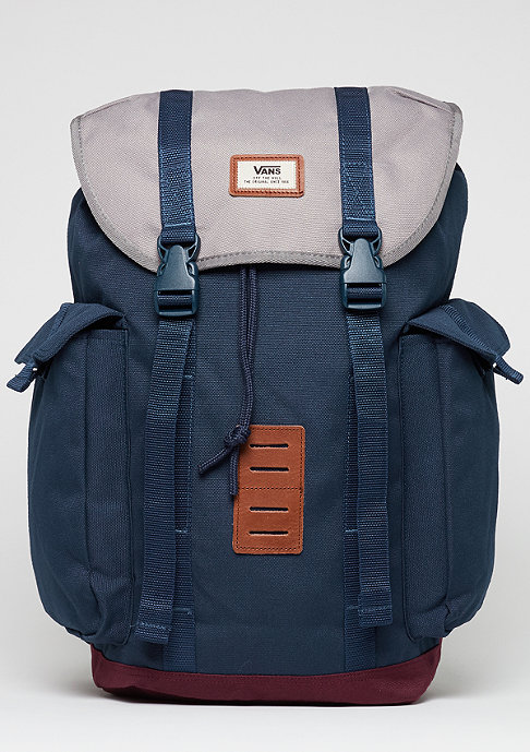 VANS Rucksack Off The Wall port royale colorblock