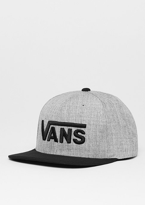 VANS Snapback-Cap Drop V heather grey/black