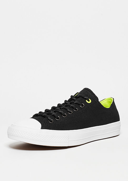 Converse Chuck Taylor All Star II Shield Canvas Ox black/volt/white
