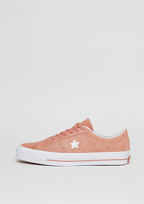 Converse Schuh CONS One Star Ox pink blush/white/white