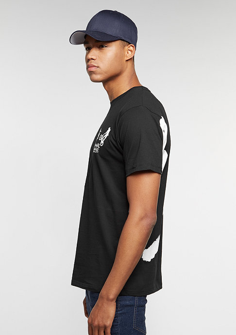Criminal Damage T-Shirt 360 black/white