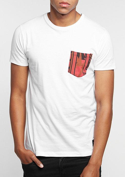 Criminal Damage T-Shirt Ancestors Pocket white/multi