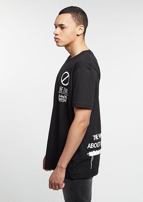 Criminal Damage T-Shirt Censorship black/white