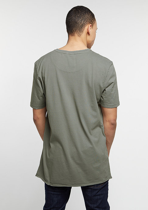 Criminal Damage T-Shirt College mushroom/olive