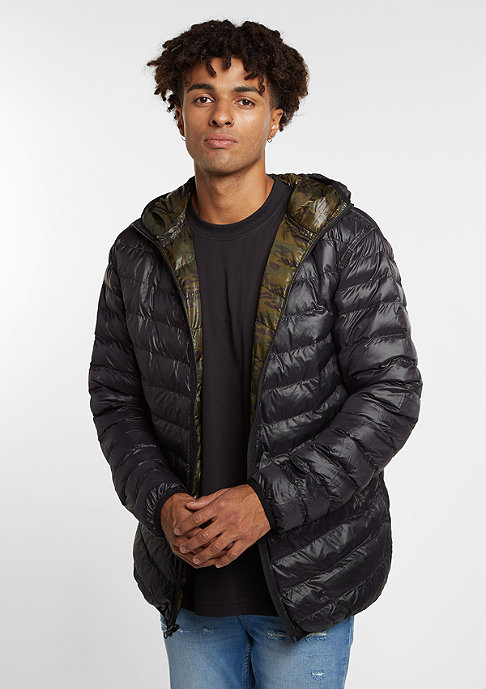 Flatbush Reversible Padded camo/black