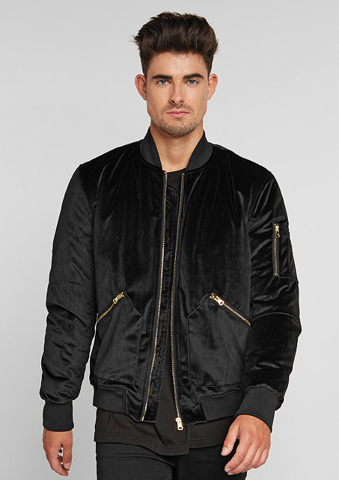 Future Past Velvet Bomber black