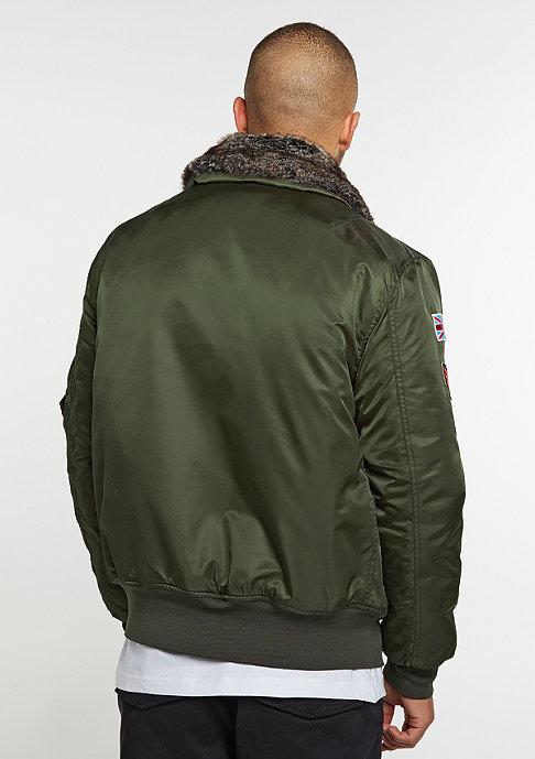 Flatbush Flight Jacket olive
