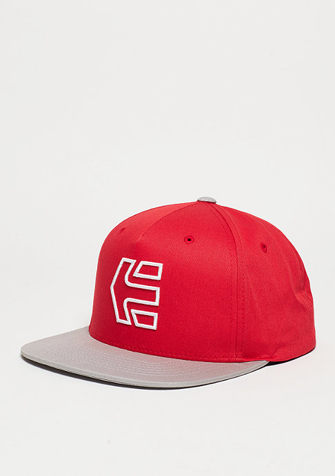Etnies Snapback-Cap Icon 7 red/grey