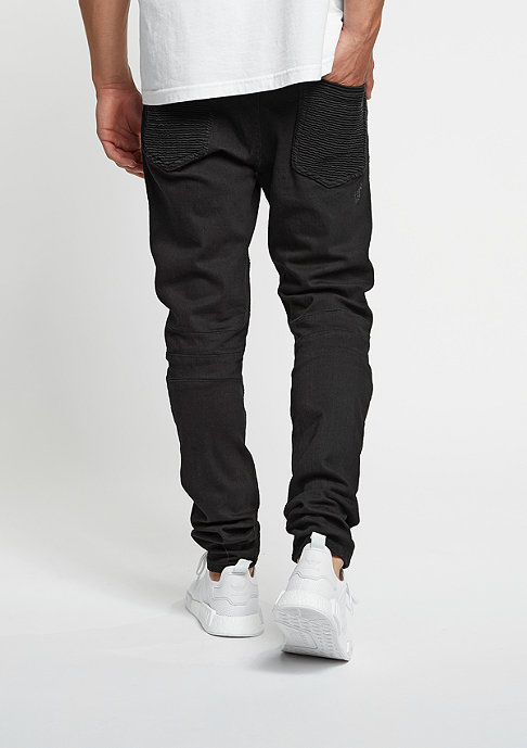 Cayler & Sons Jeans-Hose Biker Denim Pants black