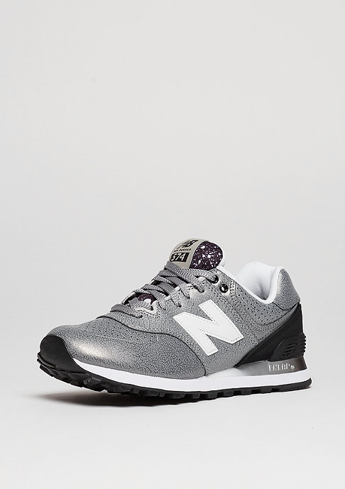 New Balance WL 574 RAC silver/black