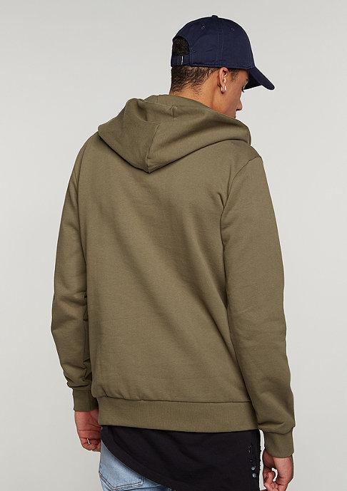 Criminal Damage Hooded-Sweatshirt Banner olive/olive