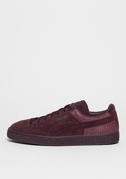 Puma Suede Classic Casual Emboss winetasting