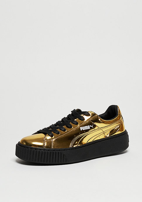 Puma Basket Platform Metallic gold/gold/black