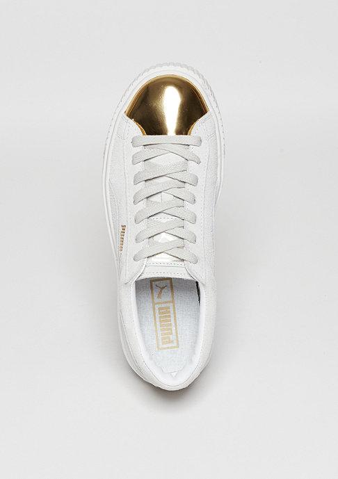 Puma Suede Platform gold/puma white
