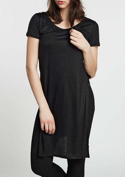 Urban Classics T-Shirt Slide Slit Viscose long black