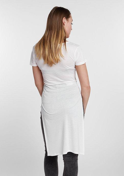 Urban Classics T-Shirt Slide Slit Viscose long off-white