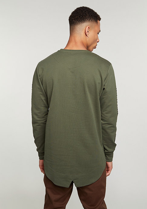 Criminal Damage CD LS Sev olive/white