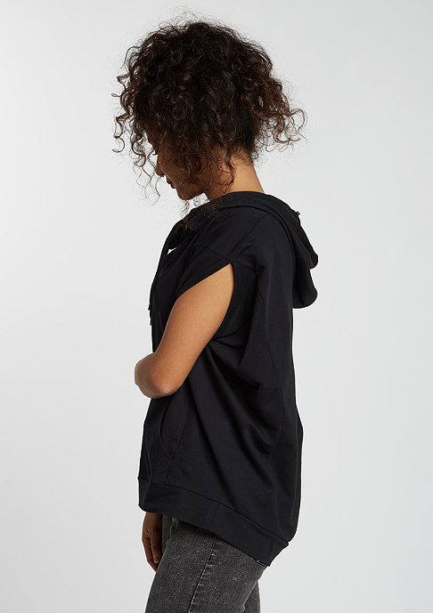 Urban Classics Sleeveless Terry High Neck black