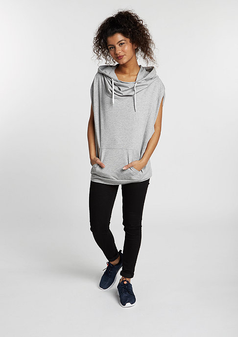 Urban Classics T-Shirt Sleeveless Terry High Neck grey
