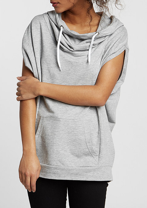 Urban Classics Sleeveless Terry High Neck grey
