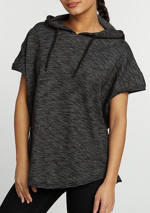 Urban Classics Hooded-Sweatshirt Melange Sleeveless Terry d.grey