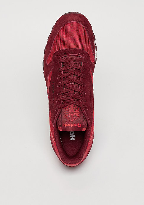 Reebok Schuh Classic Leather Clip Ele flash red/merlot/terracota