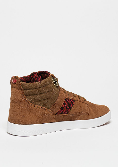 Supra Bandit brown/red herringbone/gum