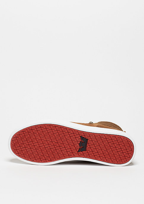 Supra Schuh Bandit brown/red herringbone/gum