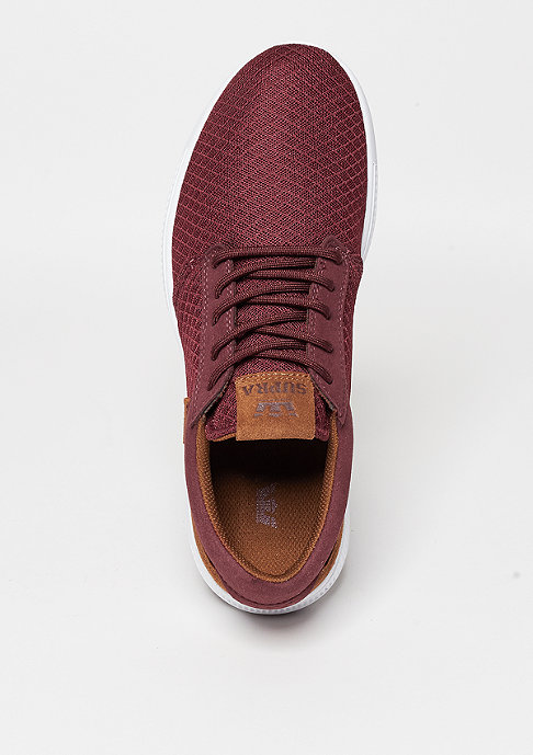 Supra Hammer Run burgundy/brown/white