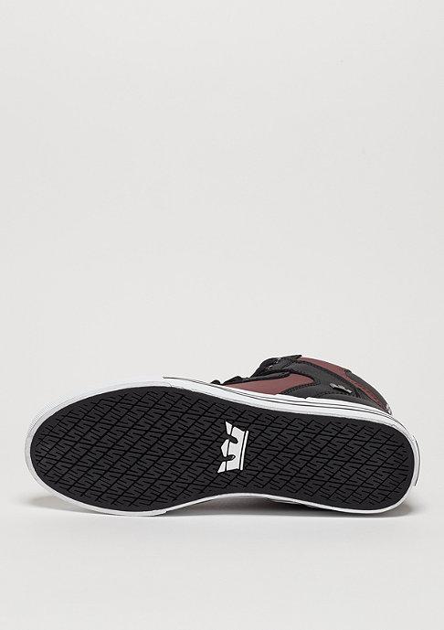 Supra Schuh Vaider plum black/white