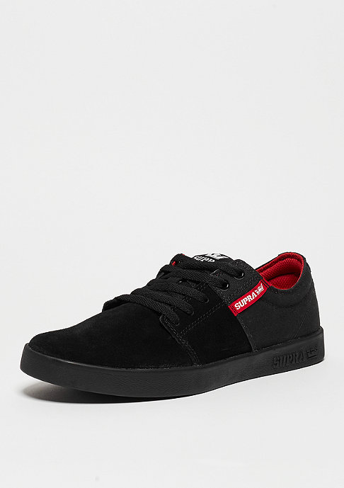 Supra Stacks III black/red/black