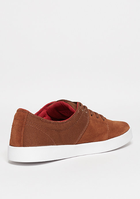 Supra Schuh Stacks III brown/red/white