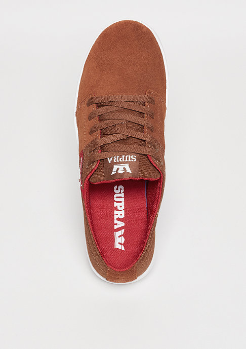 Supra Stacks III brown/red/white