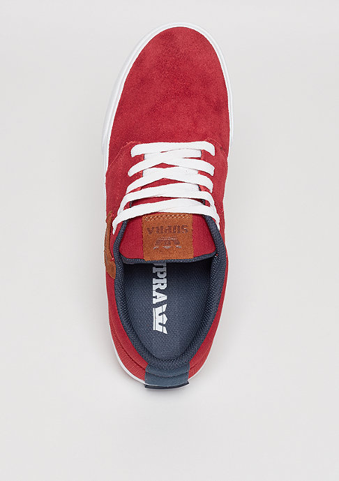 Supra Stacks Vulc II red/navy/white