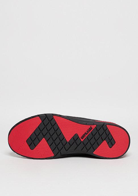 Supra Laufschuh Scissor black/red/black
