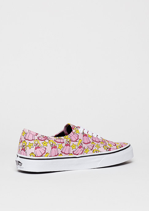 VANS Authentic Nintendo Princess Peach mutli